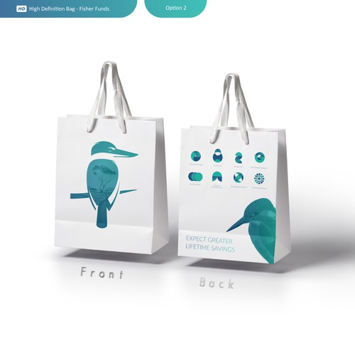 Bag design - Fisher Funds