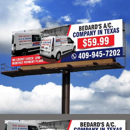 Bedard's A/C Billboard