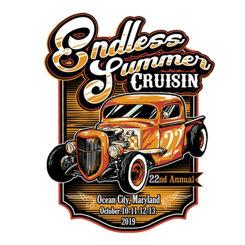 edless summer classic car event