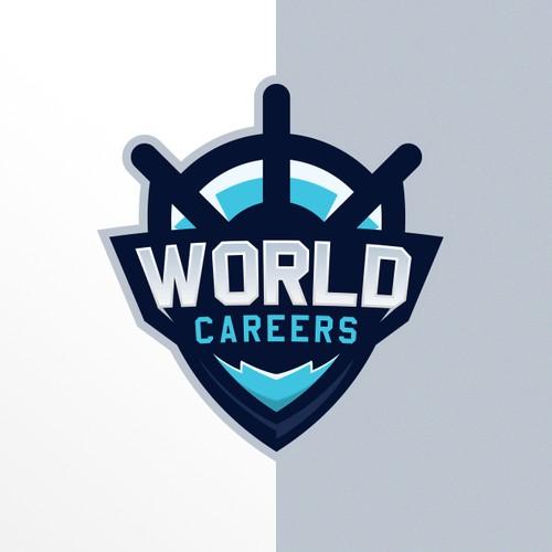 eSports Logo For World Careers