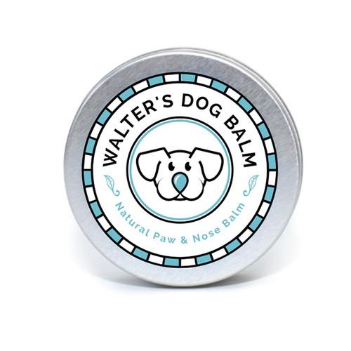 Logo for Walter's Dog Balm