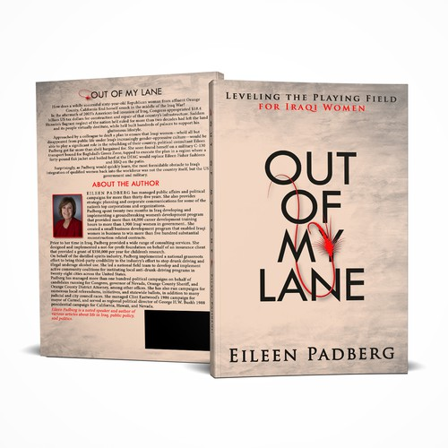 Out Of My Lane - Book Cover