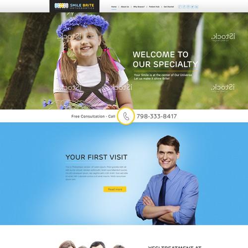 Create Responsive Web Design for Teenage Friendly Modern Medical Office