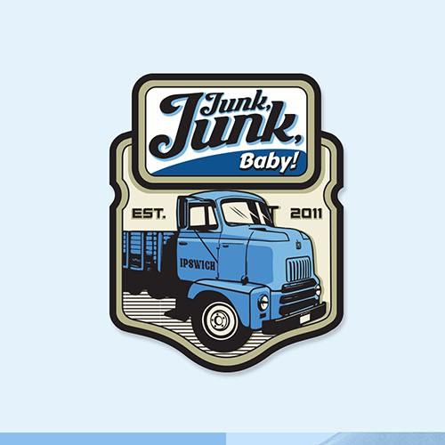 Retro, Classic logo concept for Junk Junk Baby!