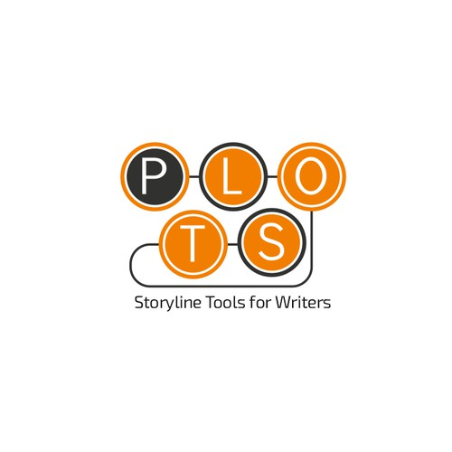 Logo concept for writers storyline tools