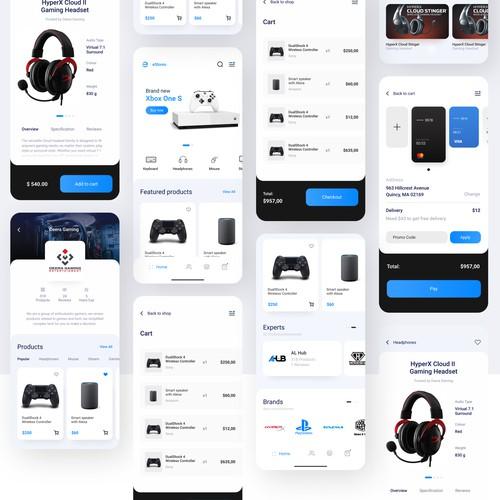 eStores - eCommerce App