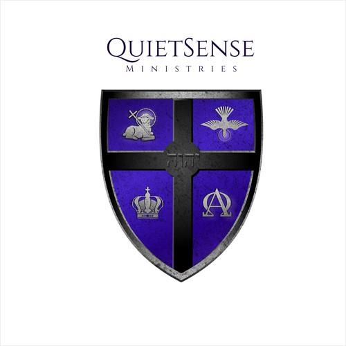 QS Ministries (unique artwork logo design)