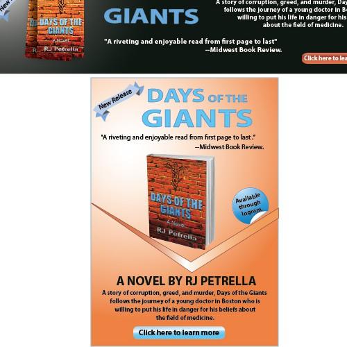 Banner ad for new novel DOTG