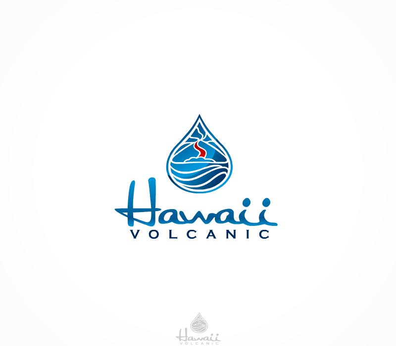 Create the next logo for Hawaii Volcanic Artesian Water