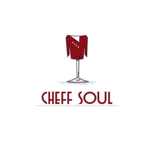 Wine Glass Chef Jacket
