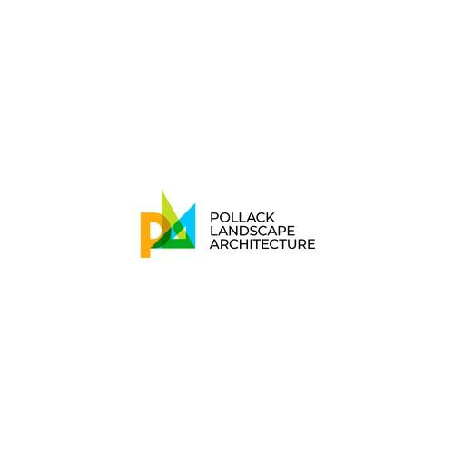 Logo for Pollack Landscape Architects
