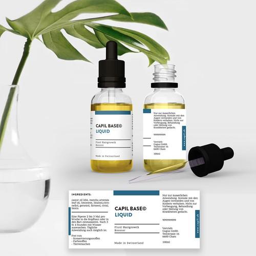 Design us a stunning & minimalistic product label