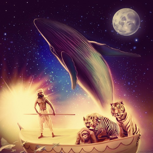 Movie poster concept for Life of Pi