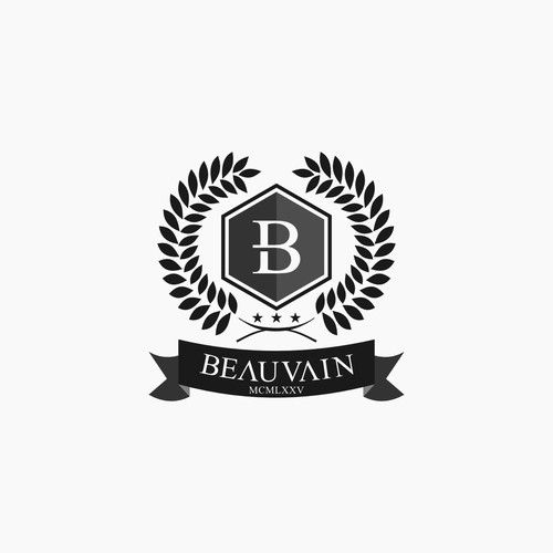 Crest & badge design for luxurious fashion label BEAUVAIN