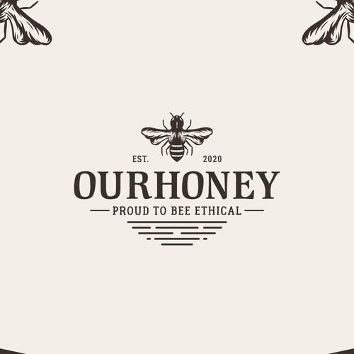 Ourhoney - Vintage Logo