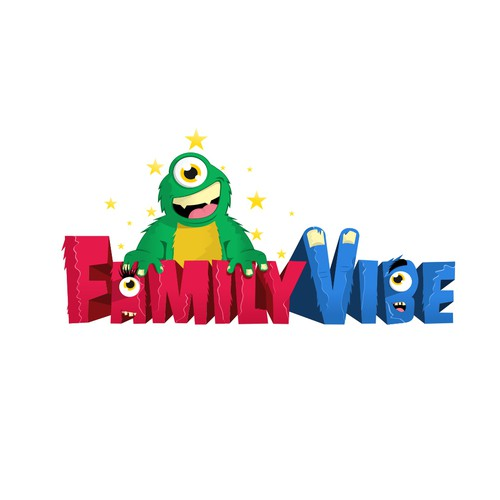 Mascot for Family Vibe fun center