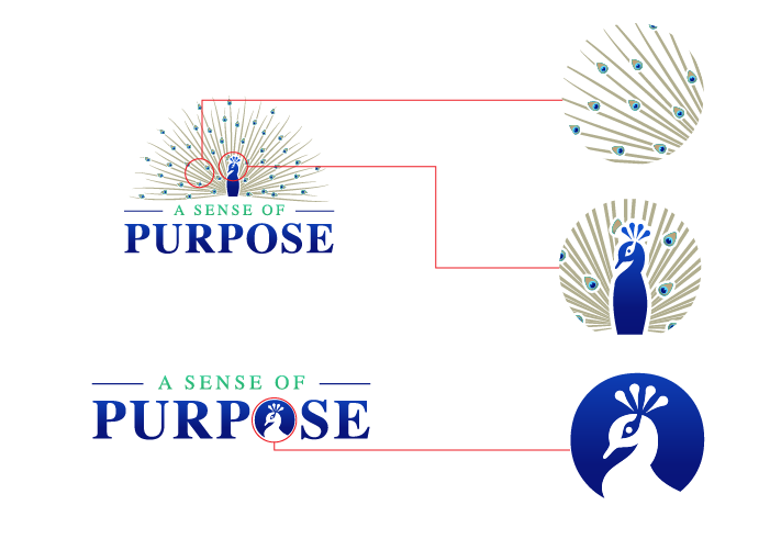 """Seeking Inspirational and Elegant Logo for """"A Sense of Purpose""""...Thanks in advance!"""