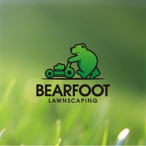 """Design a memorable logo with a play on """"Bearfoot"""""""