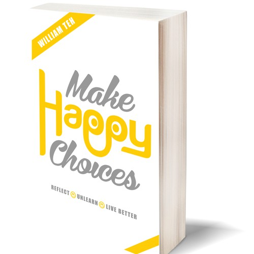 "Design Book Cover: Title:  ""Make Happy Choices"""