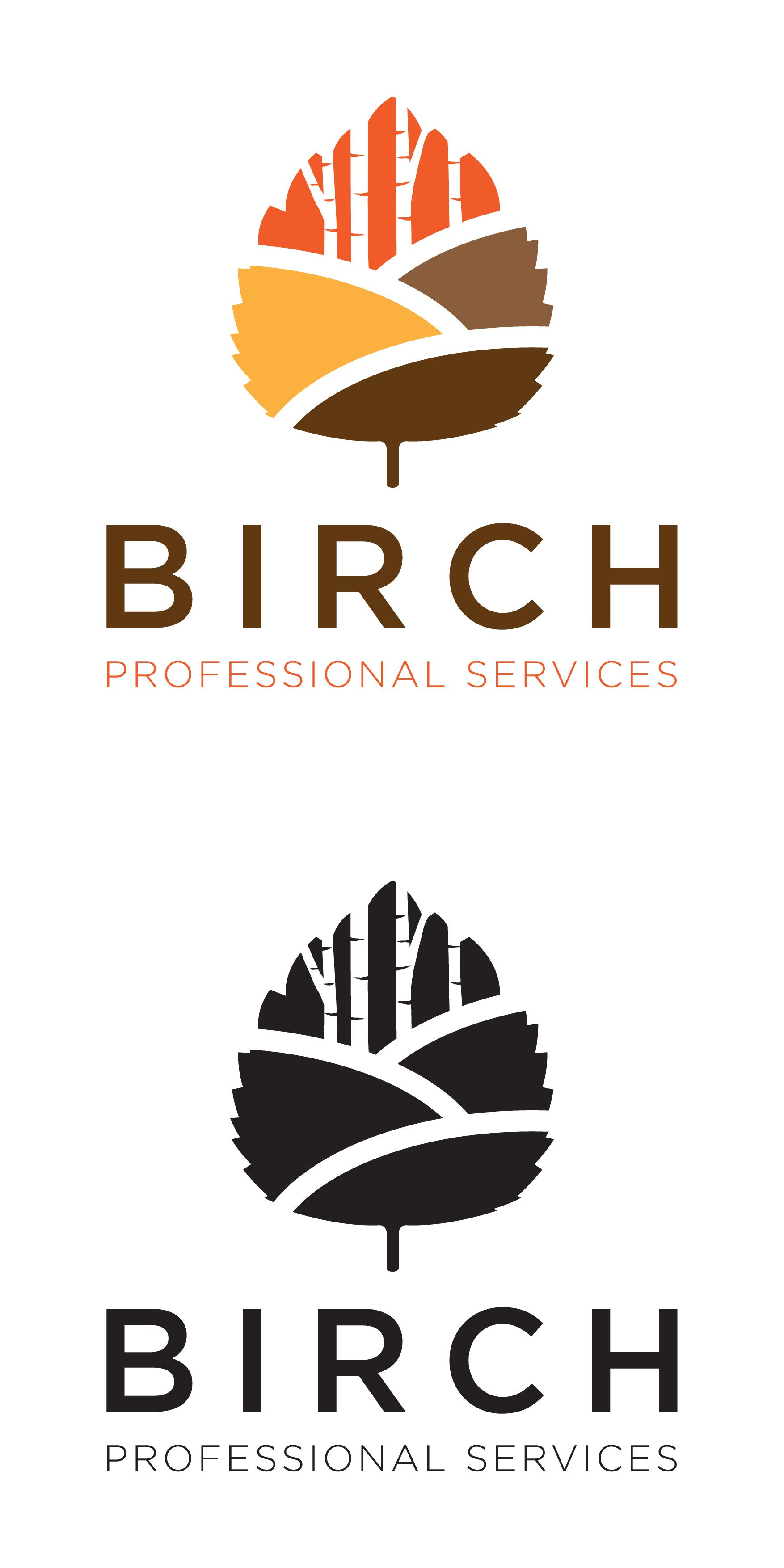 Birch Professional Services needs a bold logo for new business!