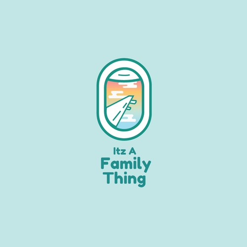 Fun logo concept from travel blog