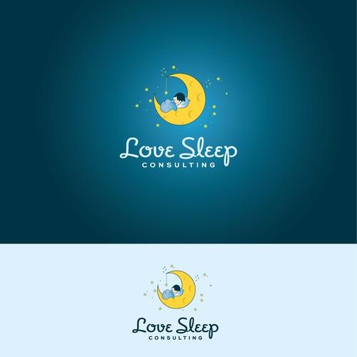 Love sleep logo