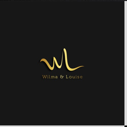 Exclusive design logo for Wilma & Louise