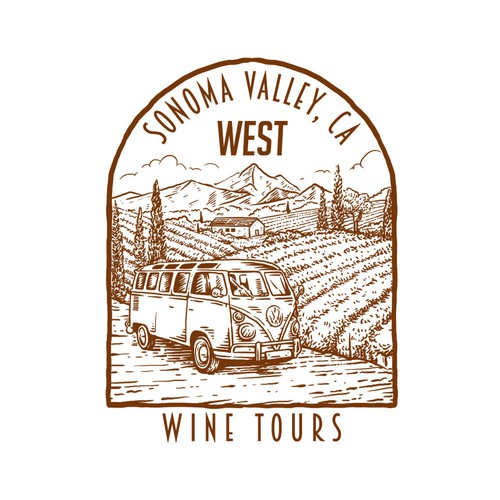 California VW Wine Tour Co. Flagship T-Shirt