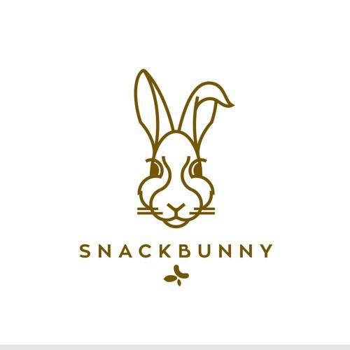 Geometric bunny for healthy snacks.