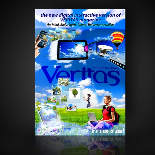 Create the next business or advertising for VERITAS Magazine