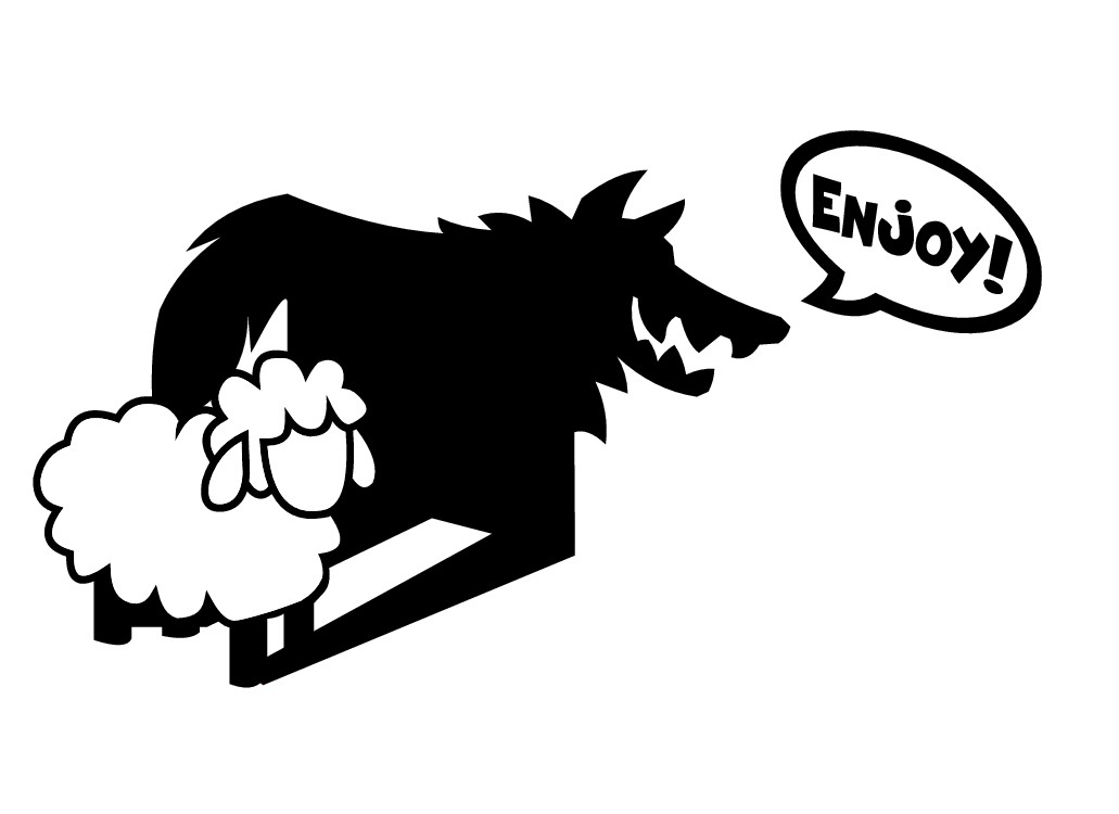 """Wolf in Sheep's Clothing"" brand needs iconic image logo"