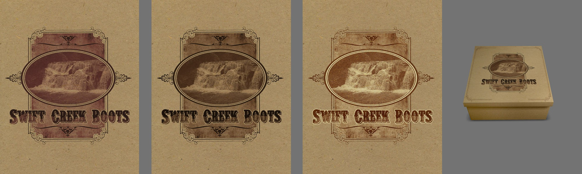 vintage western boot needs a new art or illustration