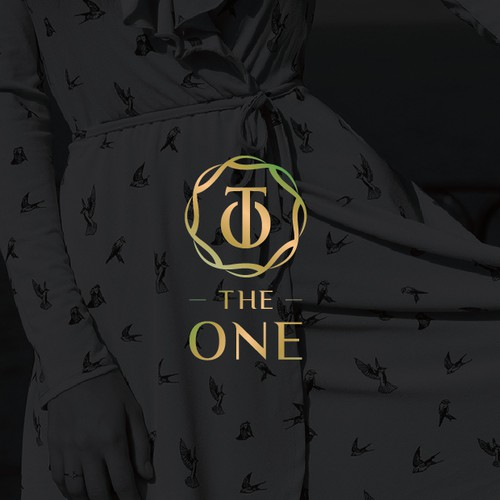luxury logo for the one