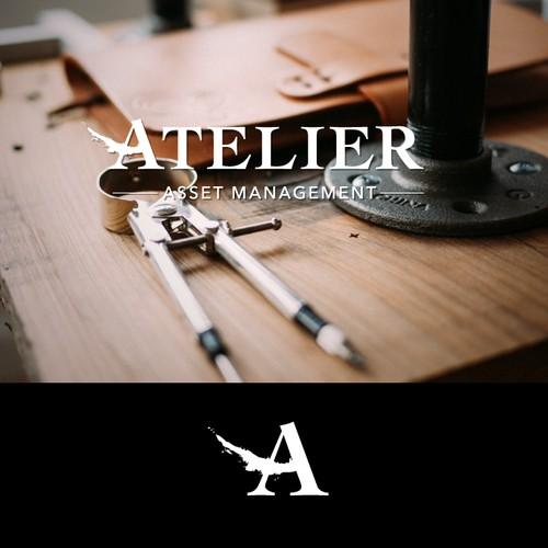 Logo and website for Atelier - new fund manager