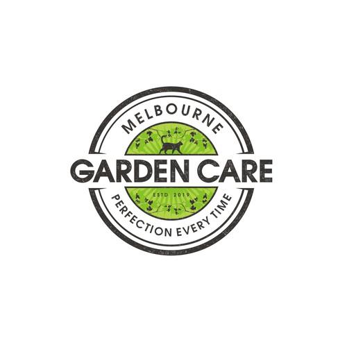 Create a modern logo for a gardening company