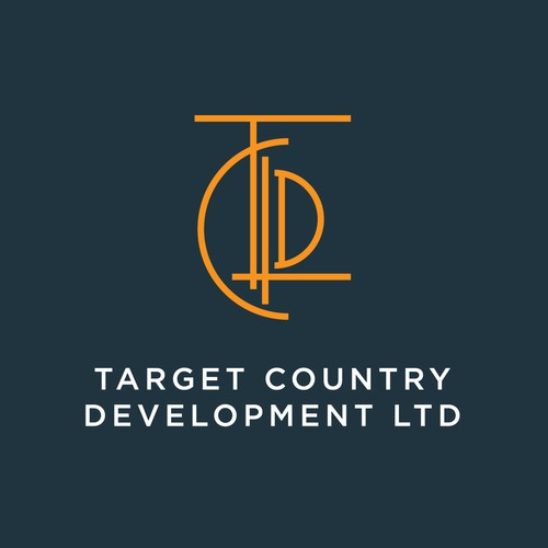 simple logo for Target Country Development LTD