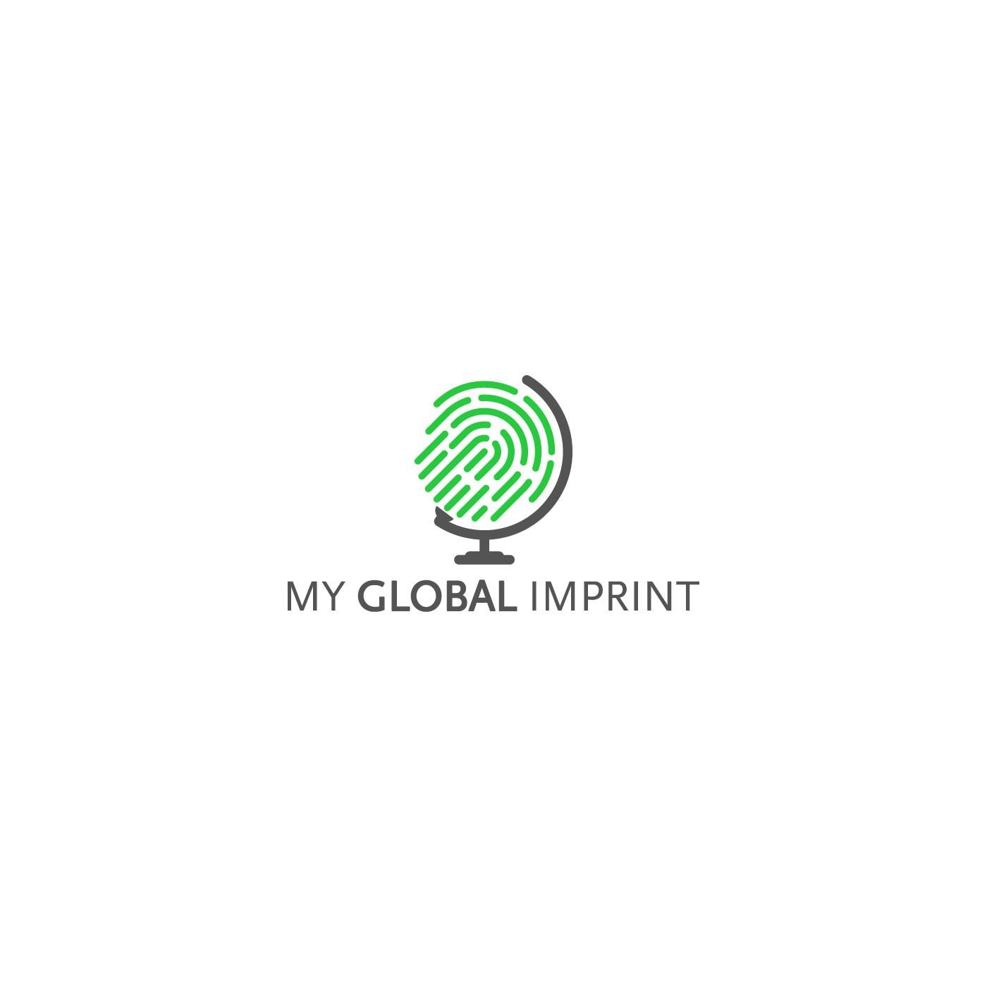 Create a capturing, memorable illustration for 'My Global Imprint'