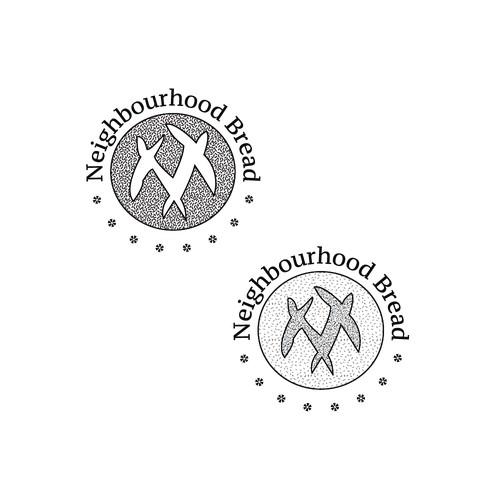 Sourdough bakery logo