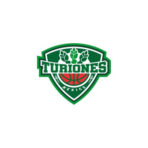 turiones sport emblem logo concept