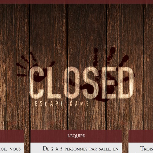 Closed - Escape Game