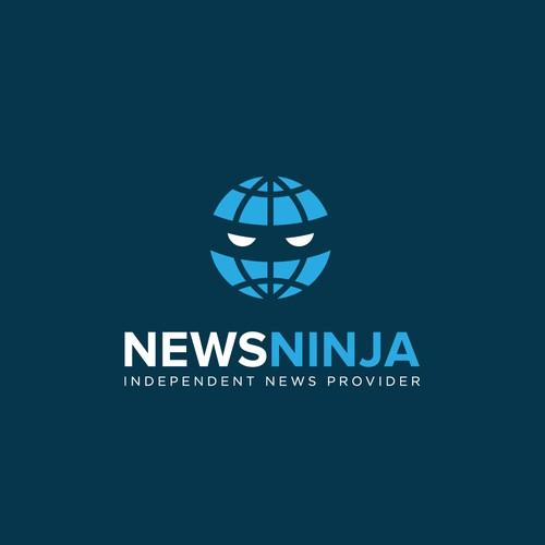 News Ninja Logo Design