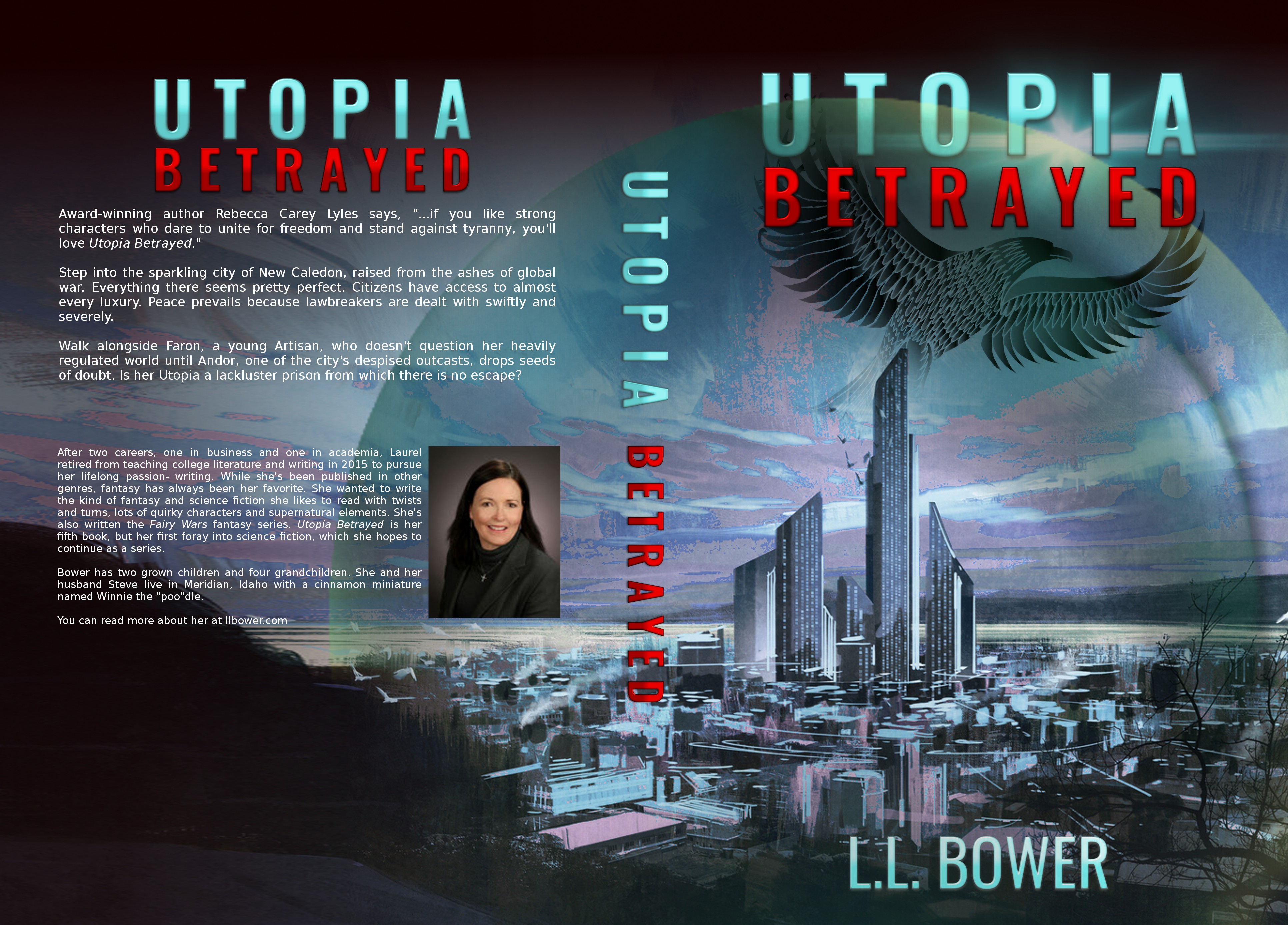 Futuristic City under a Dome Controlled by a Ruthless Leader