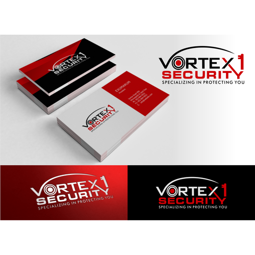 Help Vortex 1 Security with a new logo
