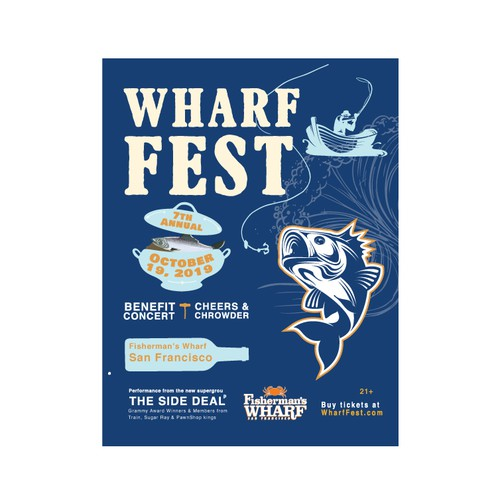 POSTER WHARF FAST
