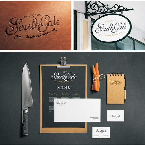 Southern Restaurant logo & website