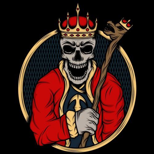 Cool Skull Design for Men's TShirt