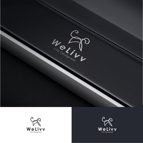One Line Logo for WeLivv