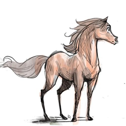 Character Design  (Arabian Horse)