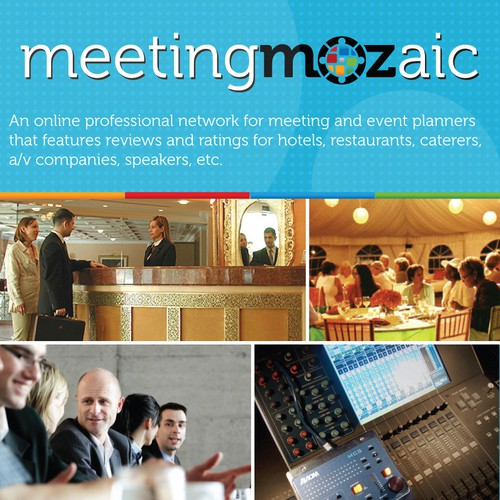New postcard or flyer wanted for MeetingMozaic