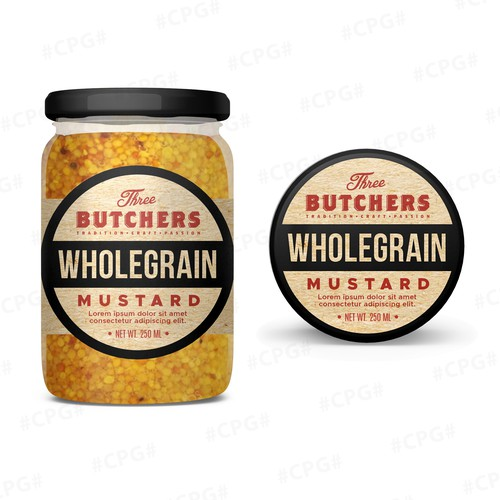 Product Label Design Concept